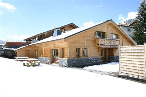 chalet alouette winter catered chalet in les gets reach4thealps