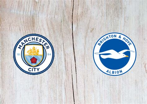 Manchester City vs Brighton & Hove Albion Full Match ...