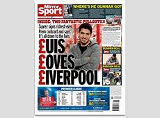 Mirror make light of Suarez's real motives with '£uis