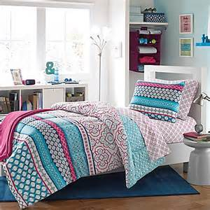 buy kenzie reversible dorm twin twin xl comforter set from
