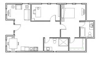 aret 2220 carter shipping container floor plan