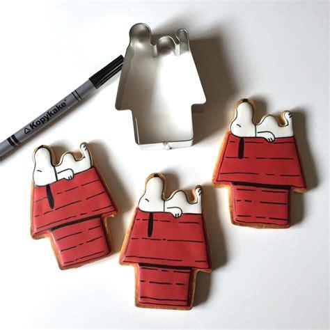 snoopy dog house cookie cutter handmade cuttercraft