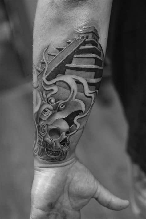 16+ Aztec Pyramid Tattoos