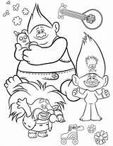 Trolls Tour Printable Coloring Coloriage Troll Queen King Colorare Dessin Barb Colouring Pdf Poppy Disegni Techno Printables Rock Hickory Wonder sketch template