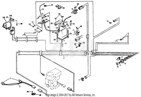 Poulan Mower Wiring Diagram by Poulan Xel1120ar Tractor Parts Diagram For Electrical