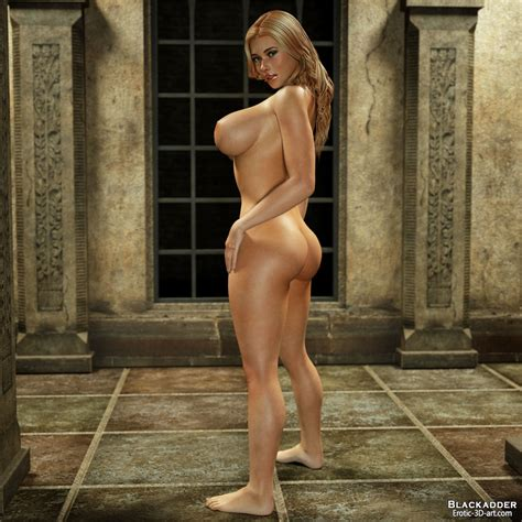 Blackadder Erotic 3d Art April 2012