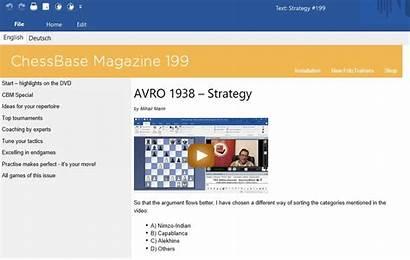 Chessbase Magazine Strategy 1938 Avro