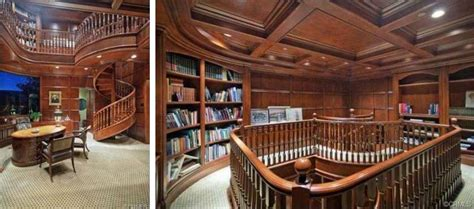 Home Libraries Via @redfin