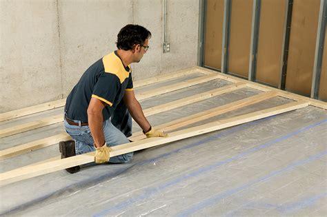 How To Frame A Floor by Frame Floor Concrete Slab Framebob Org