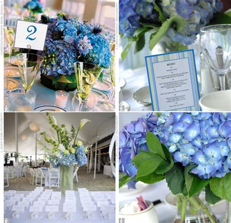 chocolate brown blue reception decor wedding favors unlimited bridal planning advice