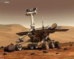 Space: Spirit rover (Marsrover), desktop wallpaper nr. 26700