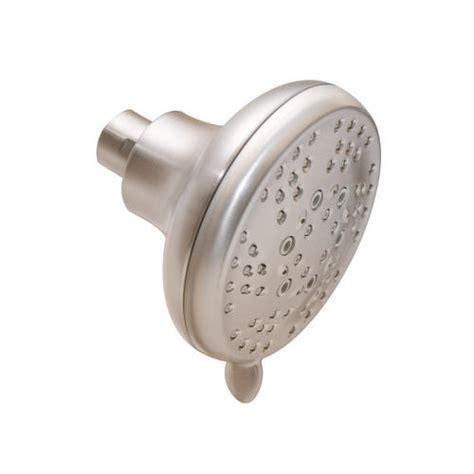 menards shower heads moen refresh five function fixed showerhead at menards 174 4073