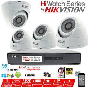hikvision cctv hd 1080p 2 4mp vision outdoor dvr home security system kit ebay
