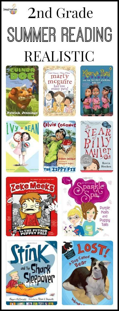 2nd Grade Summer Reading List  Not Shown Are The Funny, Mystery, And Fantasy Book Lists Pinpoint