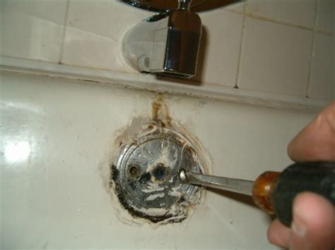 tub drain stopper repair how to replace a bathtub drain overflow assembly 1