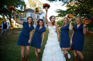 bridesmaid dresses with boots navy blue bridesmaid dresses with cowboy boots cherry