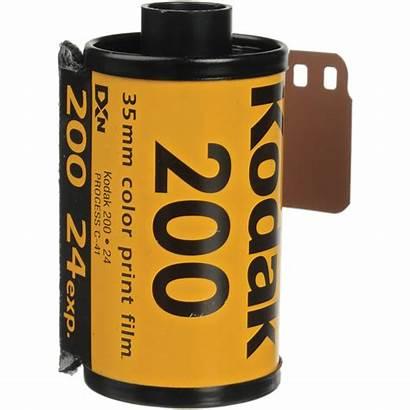 Kodak Film 200 35mm Gold Roll Negative