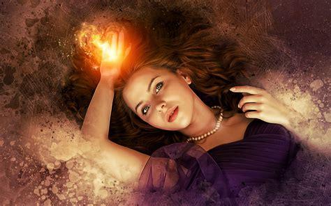beautiful magic fantasy girl hd art preview wallpapercom