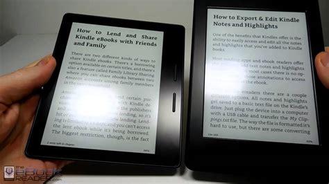 Kindle Oasis vs Kindle Paperwhite Comparison Review - YouTube