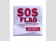 Jim Buoy SOS Distress Flag