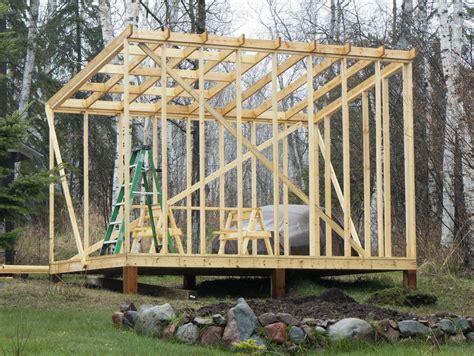 shed roof framing lloyd s shed roof framework