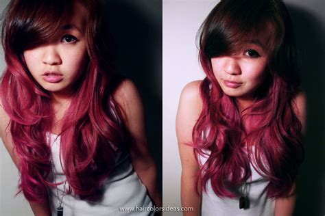 Pink Ombre Hair Hair Colors Ideas