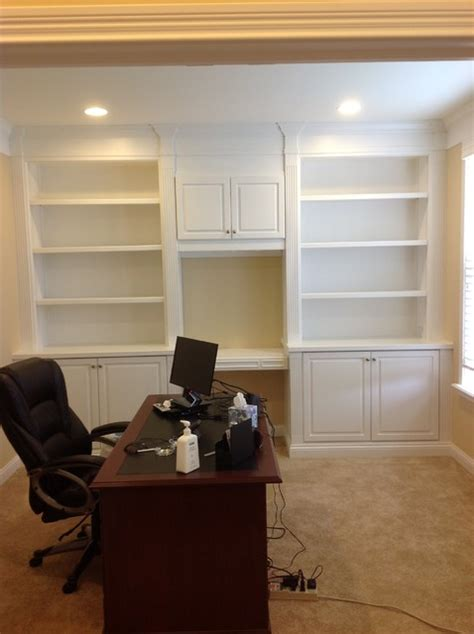 office wall unit contemporary home office
