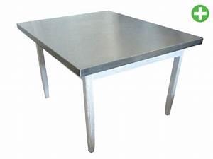 Plateau De Table : cuisine inox plateau de table inox ~ Teatrodelosmanantiales.com Idées de Décoration