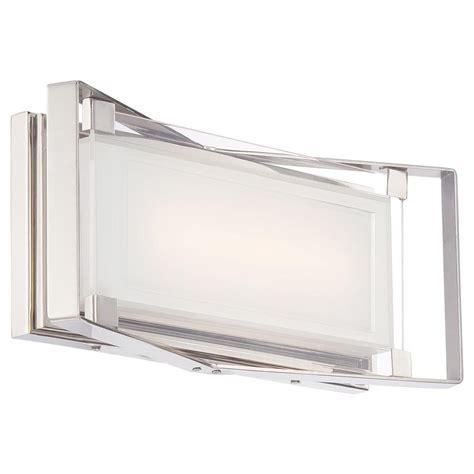george kovacs crystal clear  watt polished nickel