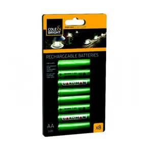 aa ni mh rechargeable batteries for solar garden lights 8