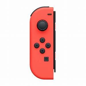 Nintendo Switch Joy Con Neon Red Controller Set The Gamesmen