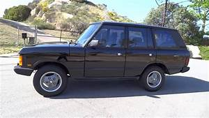1990 Land Rover Range Rover County First Generation 3 9l
