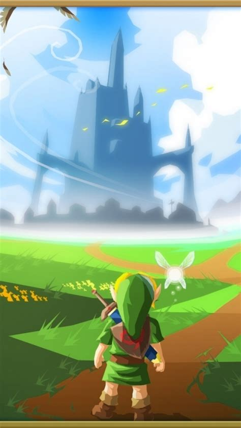 Iphone Wallpaper Zelda Zelda Ocarina Of Time Iphone Wallpaper Www Pixshark Com