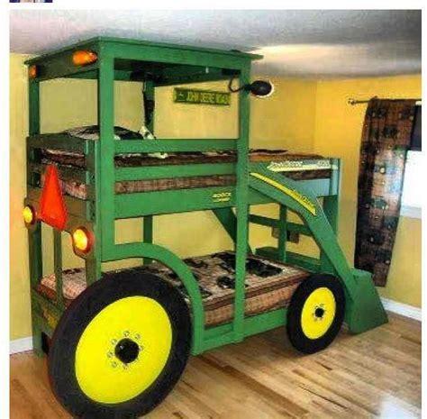 john deere tractor bed very kewl children pinterest