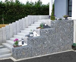 gabion 12 bordures pinterest exterieur With allee d entree maison 8 amenagement cour arriare amenagement jardin amp terrain