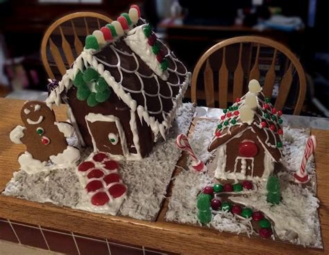 Gingerbread Houses From Scratch.