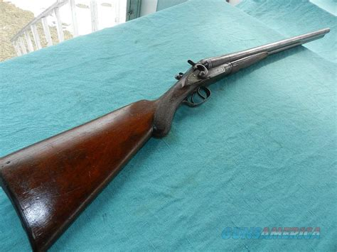 Bayard Belgium Double Hammer 12ga.shotgun For Sale