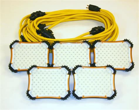 electrical contractors led lighting construction electrical products 50ft led temporary light