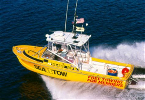 Tow Boat Us Or Sea Tow by Pwc On Water Towing Insurance Available Soon