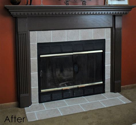 Marvelous Replace Fireplace Surround 9 Diy Fireplace