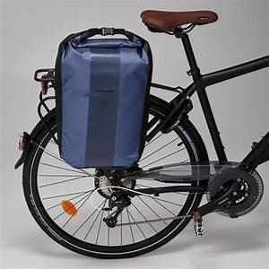 Decathlon Porte Velo : b 39 twin sacoche velo 500 sur porte bagages 500 20l impermeable decathlon ~ Maxctalentgroup.com Avis de Voitures