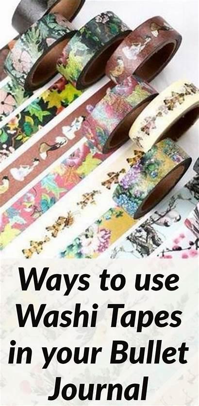 Washi Tape Bullet Ways Planner Journaling Journal