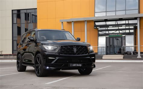 Infiniti Qx80 Backgrounds by Wallpaper Of Black Infiniti Qx80 Luxury Car Suv