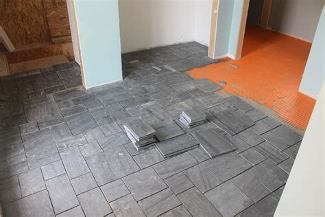 tile   install laying ceramic tile   home