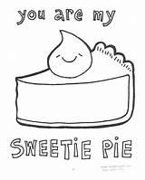 Sweetie sketch template