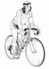 Biking Bike Mountain Coloring Docx Matching Cards Bikes sketch template