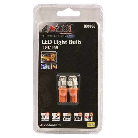 led replacement bulb 194 168 5 leds 238210 at