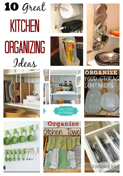tips for organizing your kitchen 10 easy kitchen organization ideas 8537