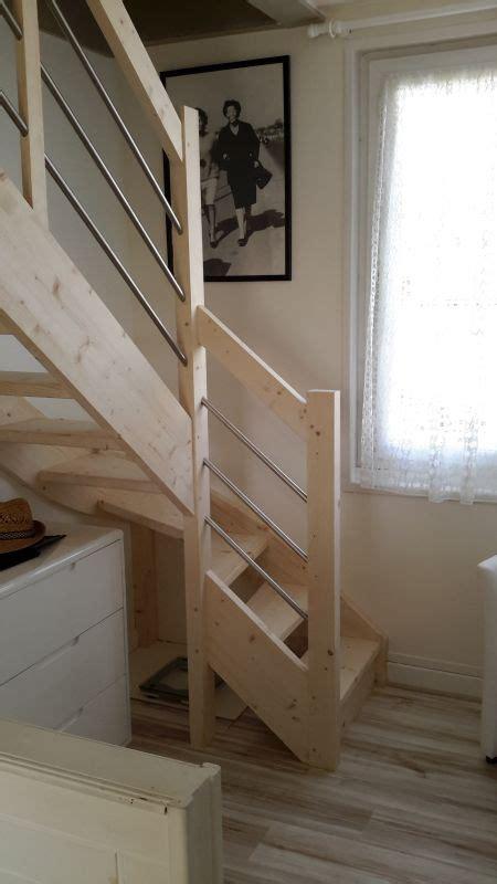 escalier moderne facile 224 poser landes et pyr 233 n 233 es atlantiques vente d escaliers et gardes