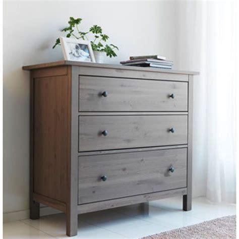 Hemnes Nightstand Gray Brown by Ikea Hemnes Dresser Chest With 3 Drawers